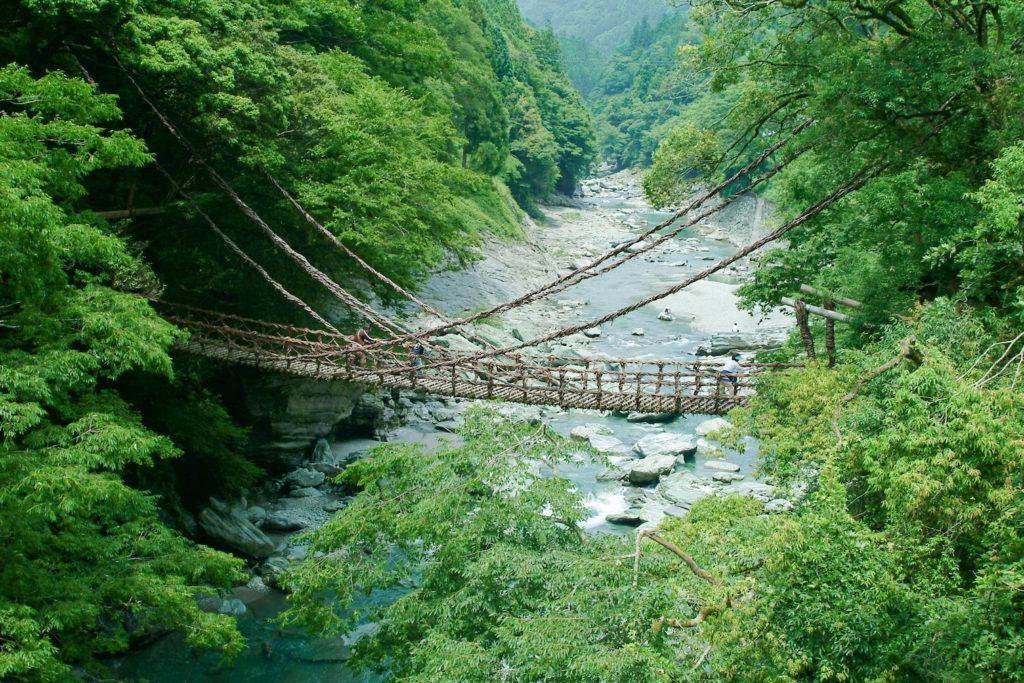 かずら橋_徳島