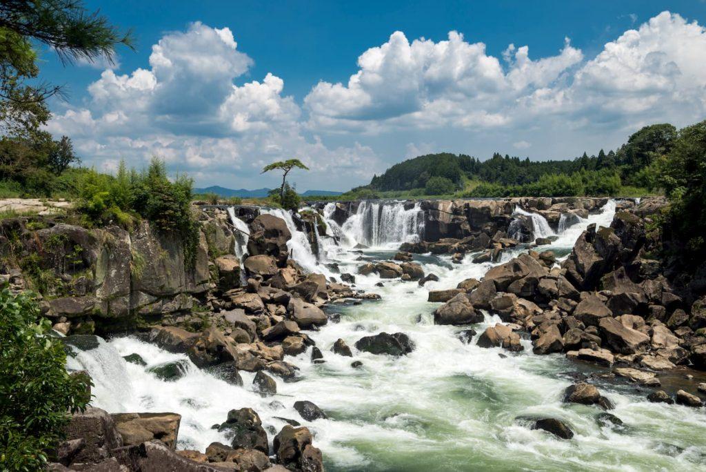 曽木の滝の全景_鹿児島